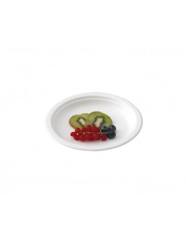 Piattini dessert 18 cm biodegradabili