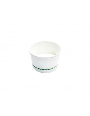 Coppette gelato piccole biodegradabili