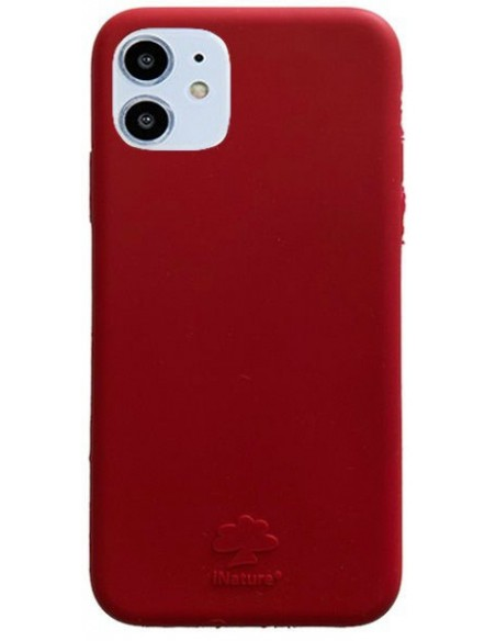 Cover Iphone 11 biodegradabile colore Tomato Red