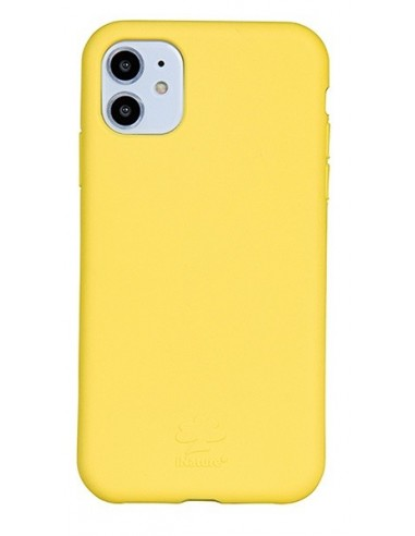 Cover Iphone 11 biodegradabile colore giallo arancione
