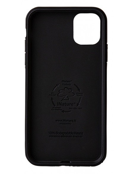Cover Iphone 11 biodegradabile colore Black