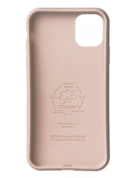 Cover Iphone 11 biodegradabile colore rosa