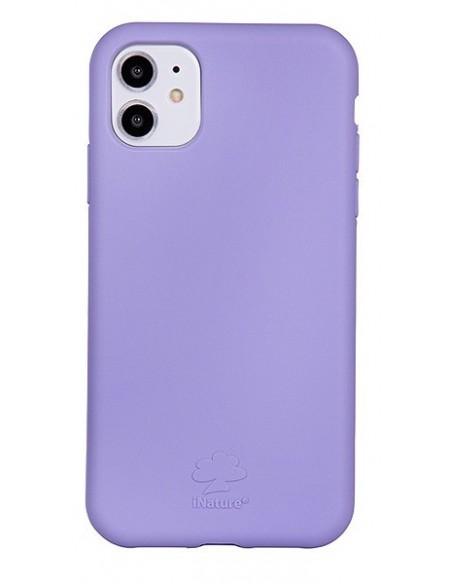 Cover Iphone 11 ecologica colore lilla