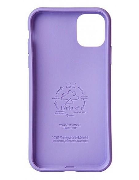 Cover Iphone 11 biodegradabile colore viola