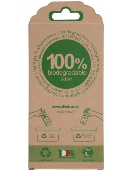 cover iphone con packaging in cartoncino riciclabile