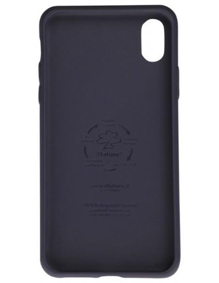 Bio Cover Iphone XR  colore Blu Ocean