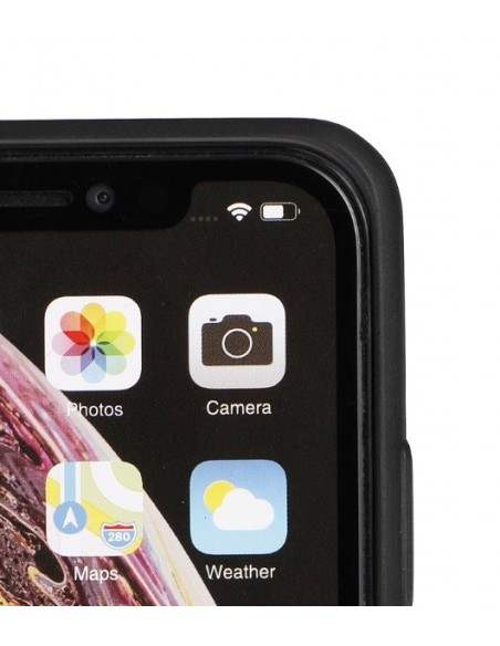 Cover Iphone X-XS bio colore nero