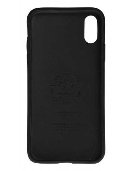 Cover Iphone X-XS biodegradabile colore Black