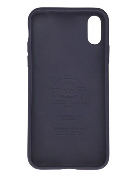 Cover Iphone X-XS biodegradabile colore Blu