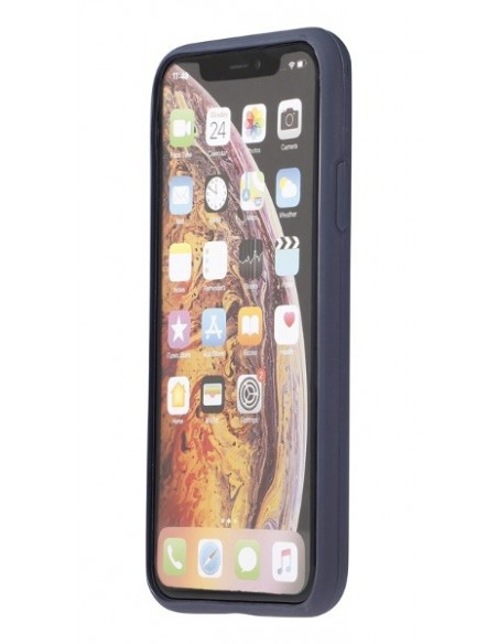 Cover Iphone X-XS ecologica colore blu