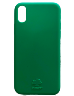 Cover Iphone X-XS biodegradabile colore Green