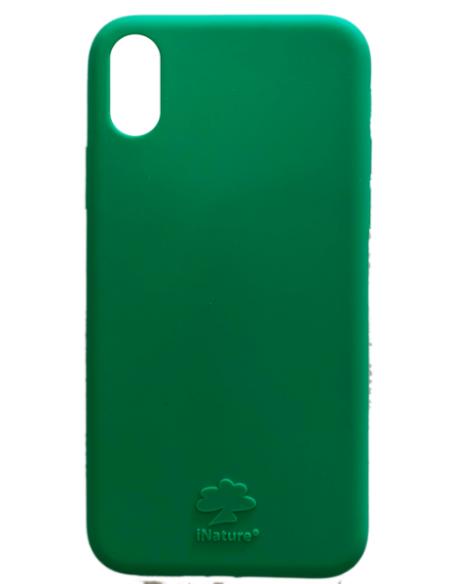 Cover Iphone X-XS biodegradabile colore Green