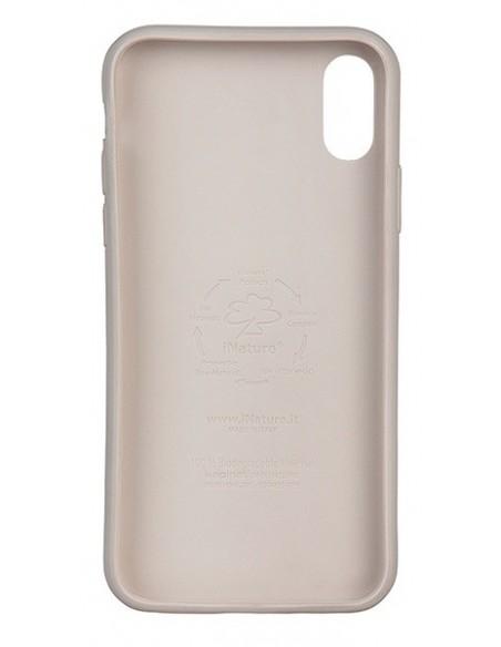 Cover Iphone X-XS biodegradabile colore stone pietra
