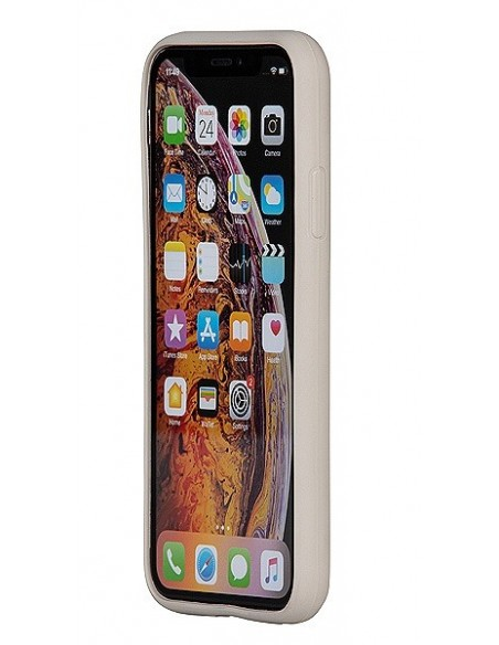 Cover Iphone X-XS ecologica colore stone