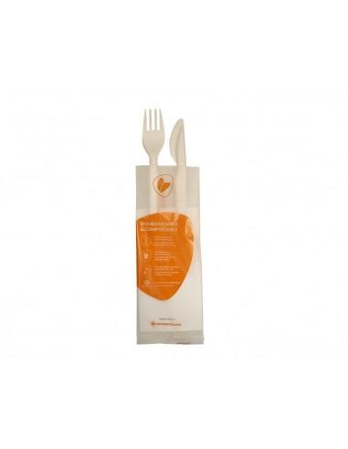 Bis posate biodegradabili (Forchetta...