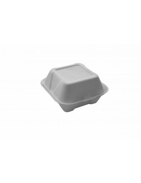 Contenitori biodegradabili per hamburger