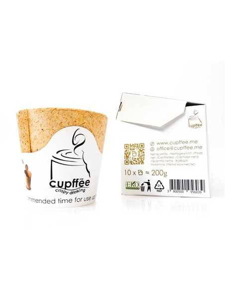 bicchierino caffè biodegradabile
