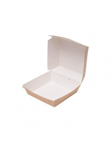 box contenitori porta hamburger cartoncino medio