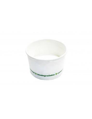 Coppette gelato medie biodegradabili...