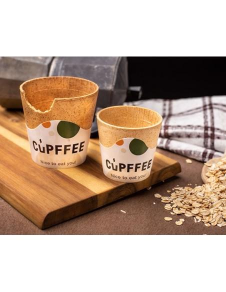 Tazzine da caffè commestibili
